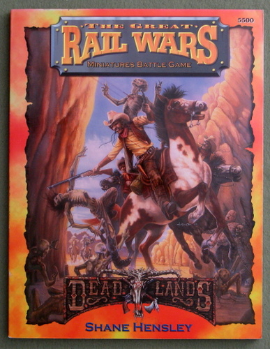 Image for Great Rail Wars: Miniatures Battle Game (Deadlands)