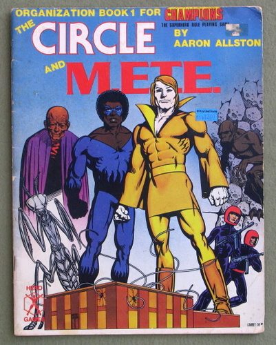 Image for The Circle and M.E.T.E. (Organization Book 1 for Champions) - PLAY COPY