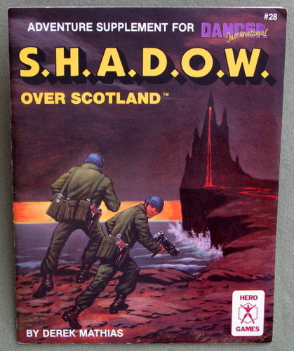 Image for S.H.A.D.O.W. Over Scotland: Adventure Supplement for Danger International