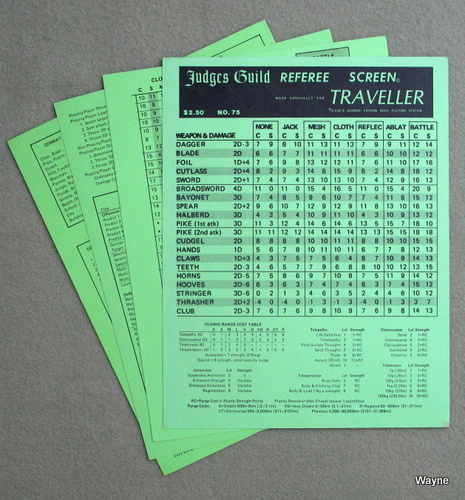 Image for Traveller Referee Screen