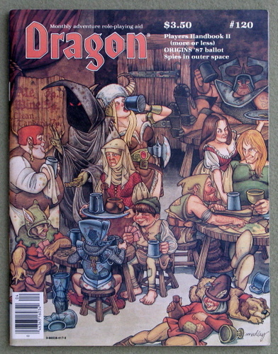 Image for Dragon Magazine, Issue 120