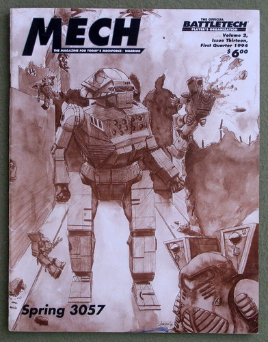 Image for Mech: The Magazine for Today's Mechforce Warrior, Issue 13 (Battletech)
