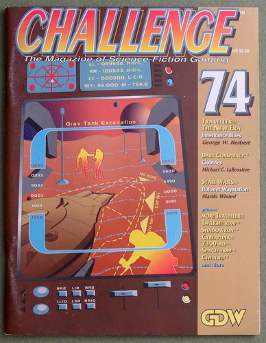 Image for Challenge Magazine, Issue 74