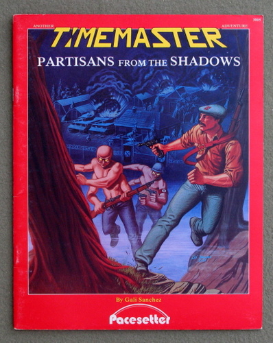 Image for Partisans From the Shadows (Timemaster Adventure)