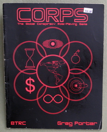 Image for CORPS : The Global Conspiracy Role-Playing Game