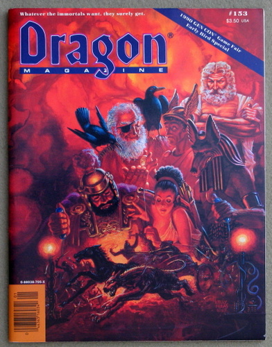 Image for Dragon Magazine, Issue 153