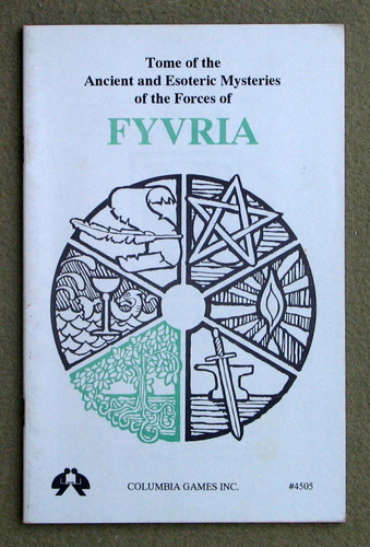 Image for Tome of the Ancient and Esoteric Mysteries of the Forces of FYVRIA (Harn Fantasy RPG Setting)