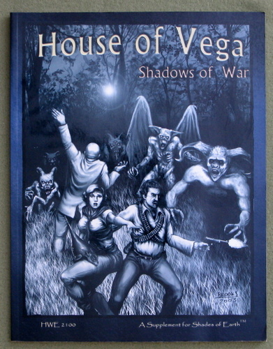 Image for House of Vega: Shadows of War (Shades of Earth Supliment)