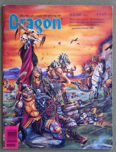 Image for Dragon Magazine, Issue 127