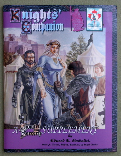 Image for Knights' Companion: A Chivalry & Sorcery Supplement