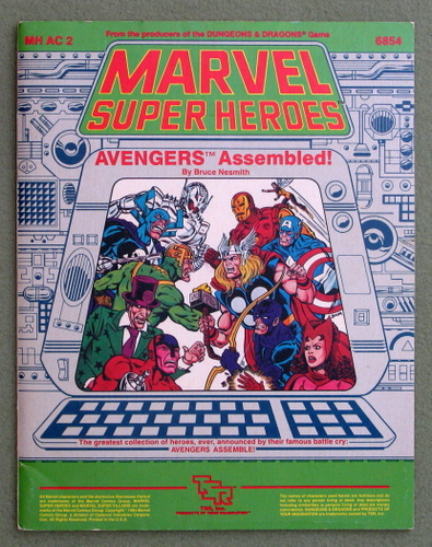 Image for Avengers Assembled! (Marvel Super Heroes module MHAC2)