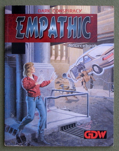 Image for Empathic Sourcebook (Dark Conspiracy)
