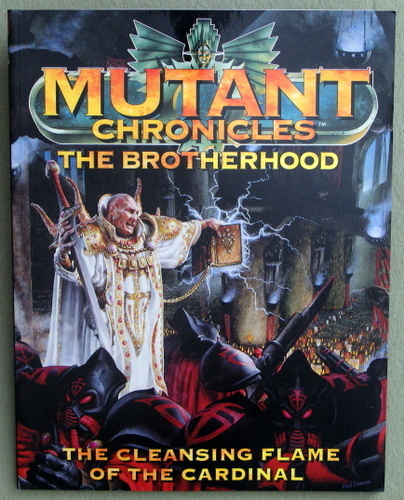 Image for The Brotherhood: The Cleansing Flame of The Cardinal (Mutant Chronicles)