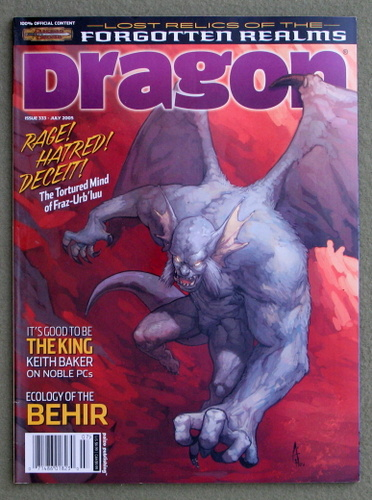 Image for Dragon Magazine, Issue 333