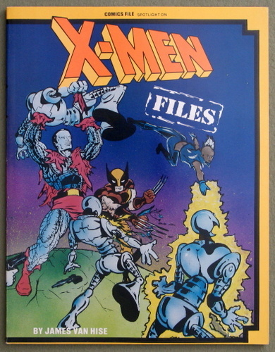 Image for X-Men Files (Comics File Spotlight)