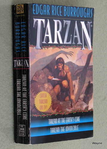 Image for Tarzan 2-in-1 (Tarzan at the Earth's Core/Tarzan the Invincible)