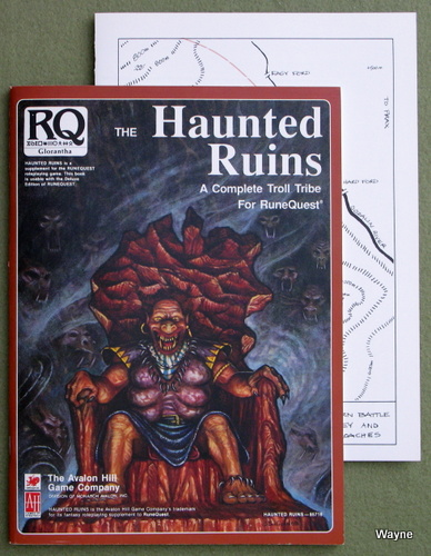 Image for Haunted Ruins: A Complete Troll Tribe for Runequest