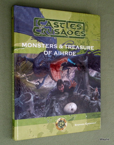Image for Monsters & Treasure of Aihrde (Castles & Crusades)