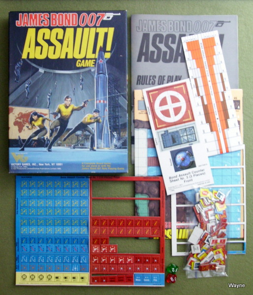 Image for Assault! Game (James Bond 007)