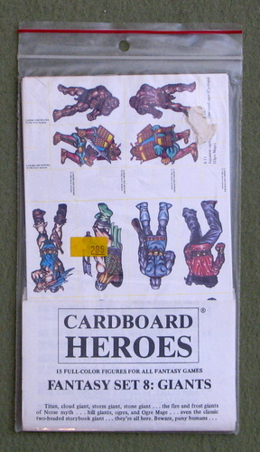 Image for Cardboard Heroes, Set 8: Giants