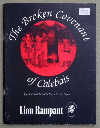 Image for Broken Covenant of Calebais (Ars Magica)