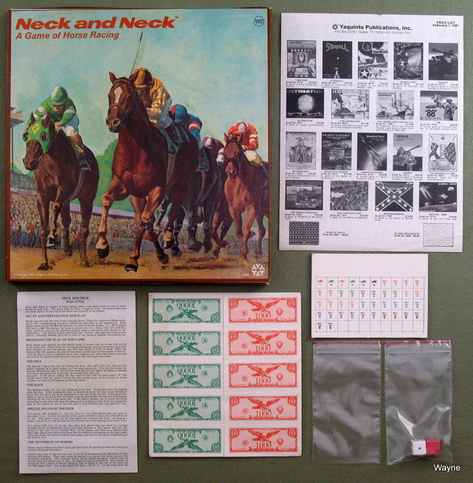 Image for Neck and Neck: A Game of Horse Racing