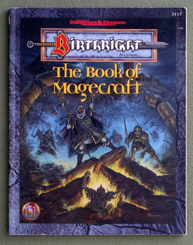 Image for The Book of Magecraft (Advanced Dungeons & Dragons: Birthright)