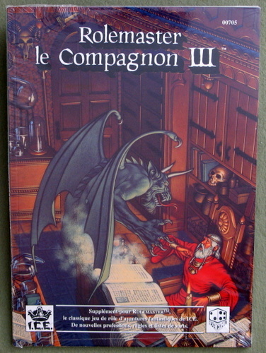 Image for Rolemaster, le Compagnon III (Rolemaster: French Edition)