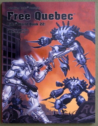 Image for Rifts World Book 22: Free Quebec
