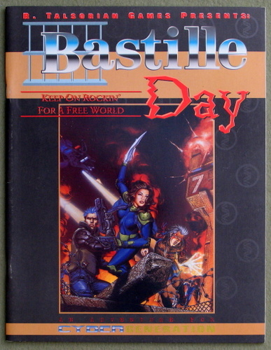 Image for Bastille Day: An Adventure for Cybergeneration (Cyberpunk)