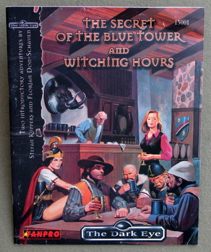 Image for The Secret of the Blue Tower and Witching Hours (The Dark Eye)