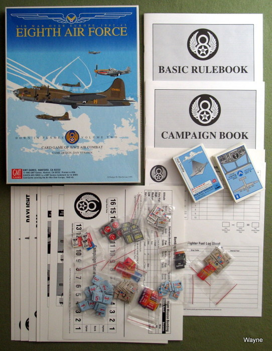 Image for Eighth Air Force: Air War Over Europe, 1942-45 (Card Game of WWII Combat)