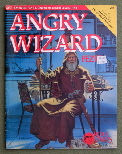 Image for FEZ III: Angry Wizard (Advanced Dungeons & Dragons: Role Aids)