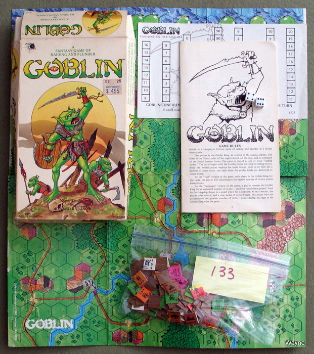 Image for Goblin: A Fantasy Game of Raiding and Plunder - PLAY SET