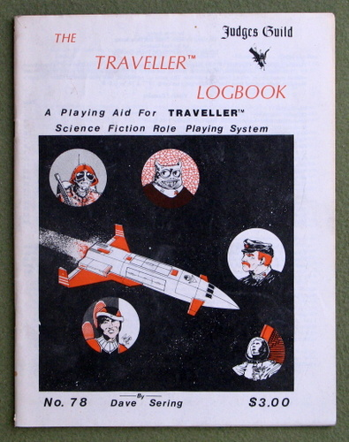 Image for The Traveller Logbook - 1ST PRINTING
