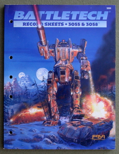Image for Battletech: Record Sheets 3055 and 3058