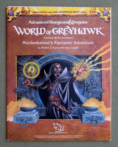Image for Mordenkainen's Fantastic Adventure (Advanced Dungeons & Dragons Module WG5)