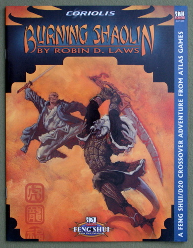 Image for Burning Shaolin (Feng Shui: D20 System)