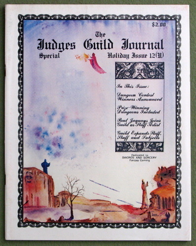 Image for Judges Guild Journal #12 (Dec-Jan 1978/9)
