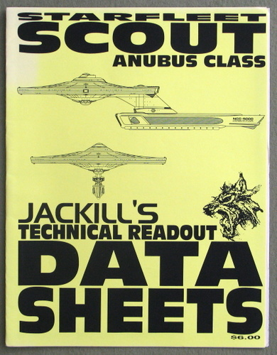 Image for Starfleet Anubus Class Scout (Jackill's Technical Readout Data Sheets)