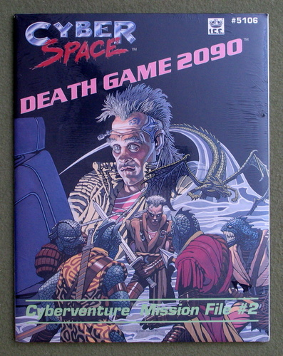 Image for Death Game 2090: Cyberventure Mission File #2 (Cyberspace RPG)