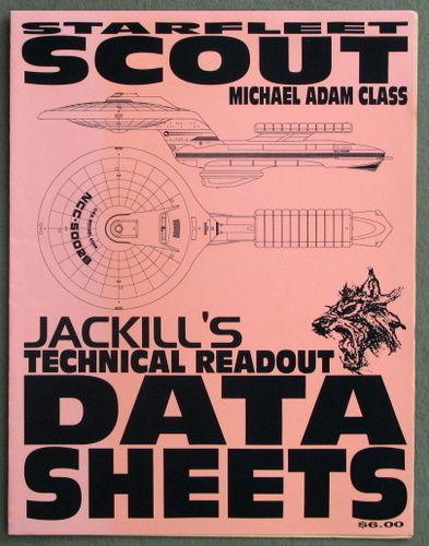 Image for Starfleet Michael Adam Class Scout (Jackill's Technical Readout Data Sheets)