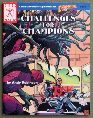 Image for Challenges for Champions: A Multi-Adventure Supplement for Champions)